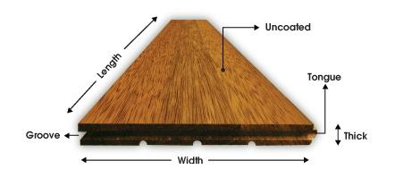 Asia Decowood Flooring Solid